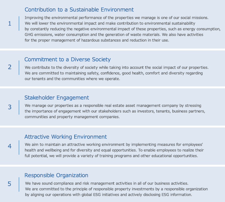 Initiatives for Sustainability|Characteristics of KDO|Kenedix